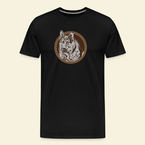 T-Shirt men, digitaler direktdruck vorne DSH  - Männer Premium T-Shirt