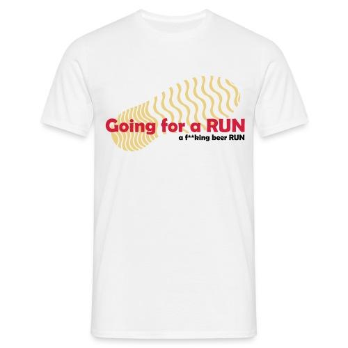Going for a RUN - Men's T-Shirt