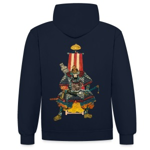 Samurai General 2 Hoodies & Sweatshirts - Contrast Colour Hoodie