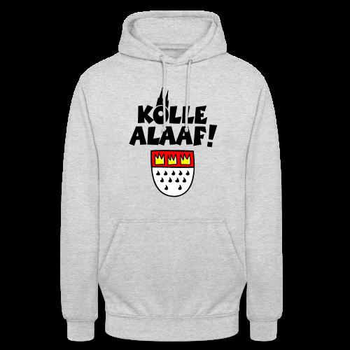 Kölle Alaaf mit Wappen und Dom Hoodie - Unisex Hoodie