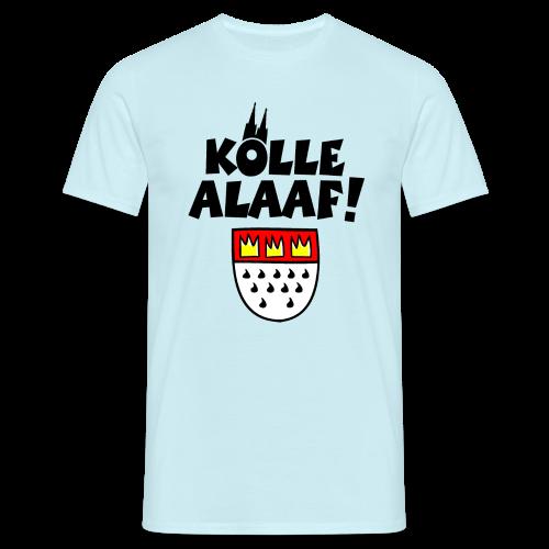 Kölle Alaaf mit Wappen und Dom Herren T-Shirt - Männer T-Shirt