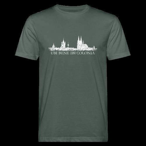 UBI BENE IBI COLONIA Skyline (Vintage Weiß) Bio T-Shirt - Männer Bio-T-Shirt