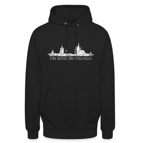 UBI BENE IBI COLONIA Skyline (Vintage Weiß) Köln Hoodie - Unisex Hoodie