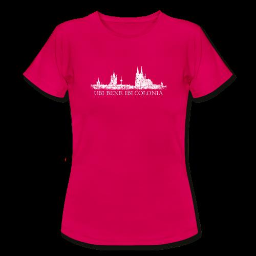 UBI BENE IBI COLONIA Skyline (Vintage Weiß) T-Shirt - Frauen T-Shirt