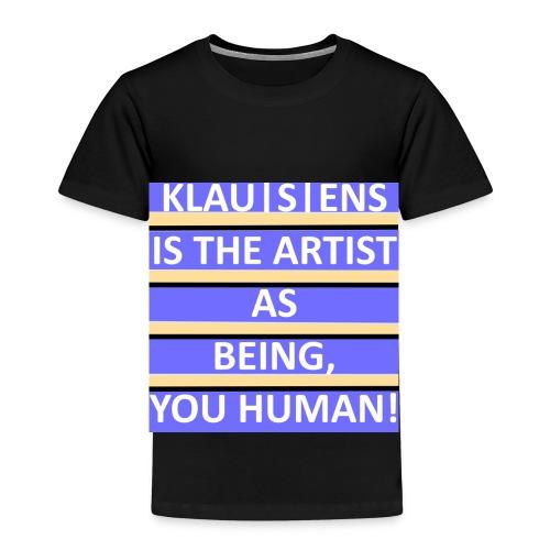 KINDER-T-SHIRT mit Aufdruck ||| Slogan von KLAUSENS - Kinder Premium T-Shirt