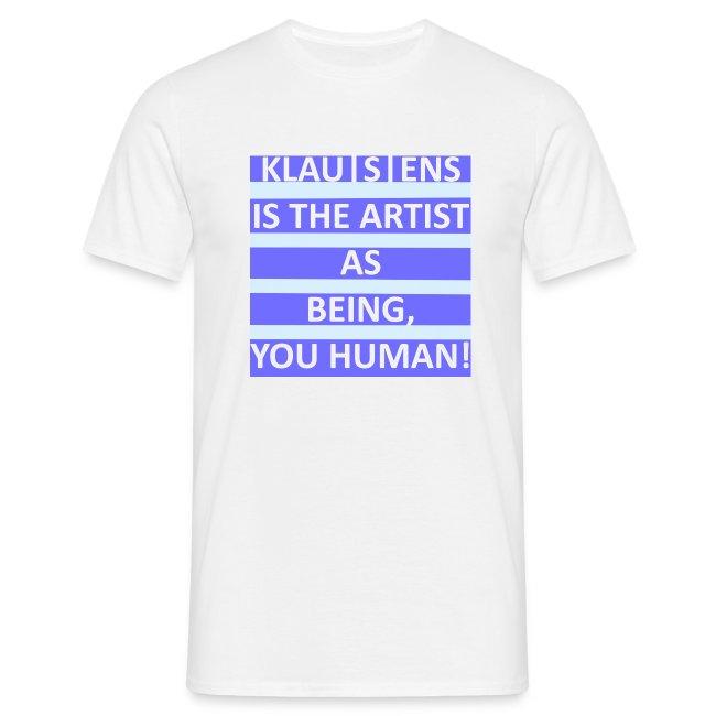 T-SHIRT mit Aufdruck ||| Slogan von KLAUSENS