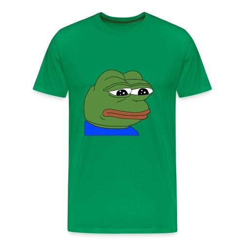 Pepe T-Shirt   Sad Pepe - Men's Premium T-Shirt