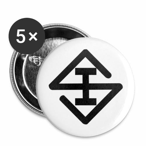 Scheisse Einfach Button - Buttons mittel 32 mm