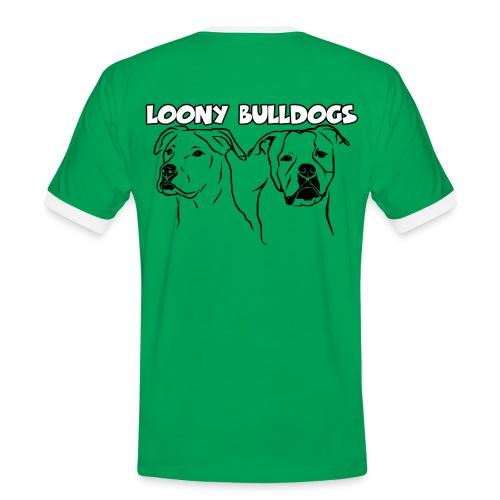 Loony Bulldogs Kontrast Shirt - Männer Kontrast-T-Shirt