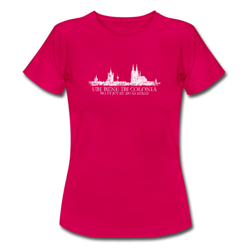 UBI BENE DO ES KÖLLE Skyline (Vintage Weiß) Köln T-Shirt - Frauen T-Shirt