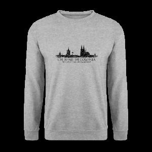 UBI BENE DO ES KÖLLE Skyline (Vintage Schwarz) Köln Pullover - Männer Pullover