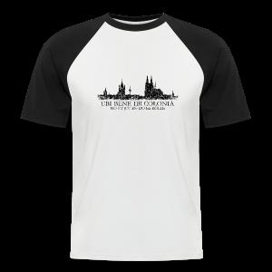 UBI BENE DO ES KÖLLE Skyline (Vintage Schwarz) Köln Baseball T-Shirt - Männer Baseball-T-Shirt