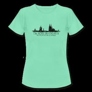 UBI BENE DO ES KÖLLE Skyline (Vintage Schwarz) Köln T-Shirt - Frauen T-Shirt