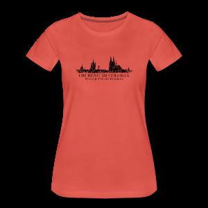 UBI BENE DO ES KÖLLE Skyline (Vintage Schwarz) S-3XL Köln T-Shirt - Frauen Premium T-Shirt