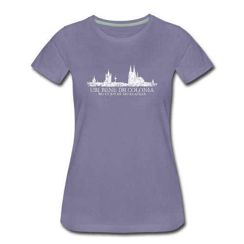 UBI BENE DO ES KÖLLE Skyline (Vintage Weiß) S-3XL Köln T-Shirt - Frauen Premium T-Shirt
