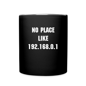 No Place Like 192.168.0.1 - Full Colour Mug