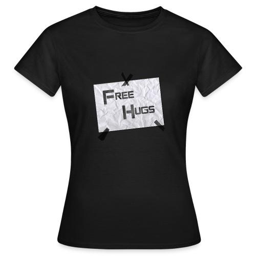 FreeHugs FEMME (B&C) - T-shirt Femme