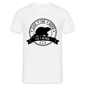 Save the wood - Mannen T-shirt