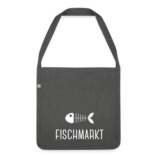 Fischmarkt - Schultertasche aus Recycling-Material