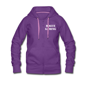 Rogue Gaming Womens Hoodie - Women's Premium Hooded Jacket