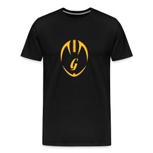 Big Size - T-Shirt - Vertikal - Männer Premium T-Shirt