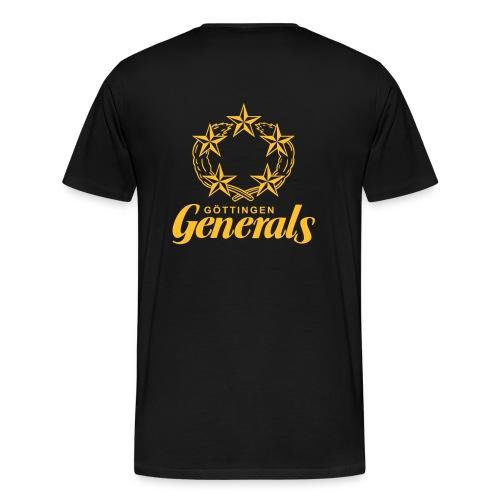 Big Size - T-Shirt - Kranz - Männer Premium T-Shirt