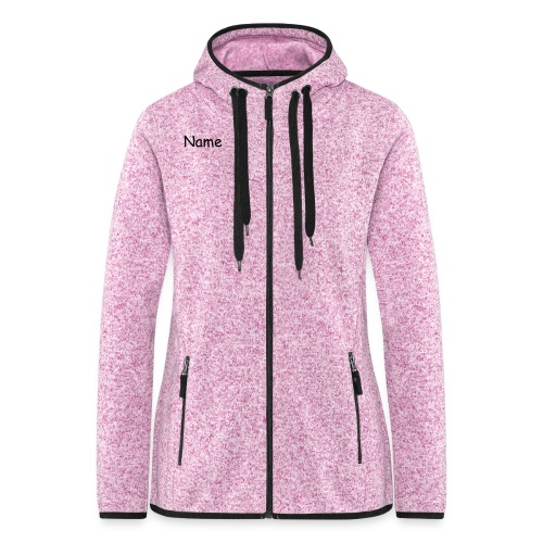 Women´s Fleece jacket - Frauen Kapuzen-Fleecejacke