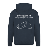 Pullover & Hoodies ~ Männer Premium Kapuzenjacke ~ Lýtingsstaðir-Riding-Cottages-Old Stable- hooded pullover
