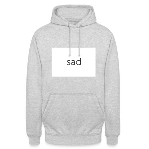 I'm not sad - Sweat-shirt à capuche unisexe