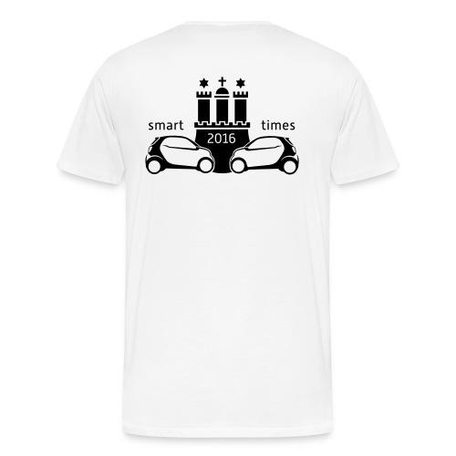 Smart-Times 2016 - Hamburg - Männer Premium T-Shirt