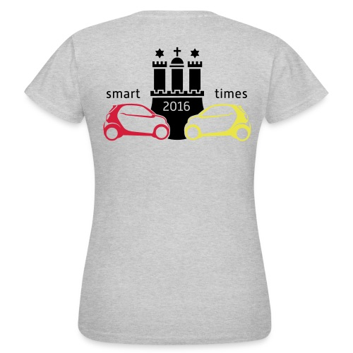 Smart-Times 2016 - Hamburg - Frauen T-Shirt