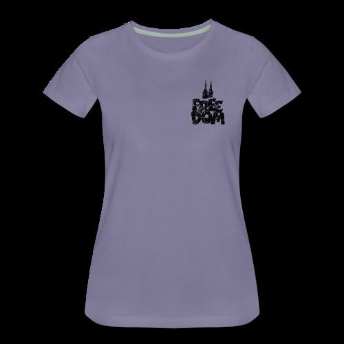 Free Dom (Vintage Schwarz) Köln S-3XL T-Shirt - Frauen Premium T-Shirt