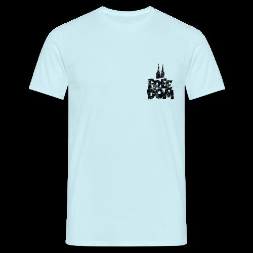 Free Dom (Vintage Schwarz) Köln T-Shirt - Männer T-Shirt