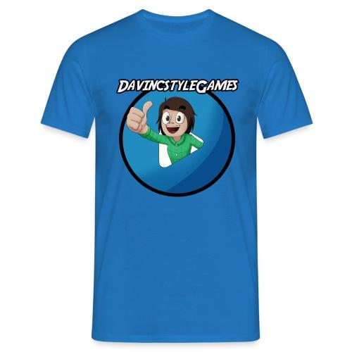 Logo Shirt (MAN) - Davincstyle - Mannen T-shirt