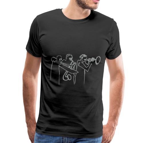bläserreihe - la brasserie - Männer Premium T-Shirt