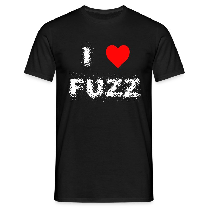 I Heart Fuzz - Men's T-Shirt
