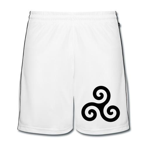 Short spirale - Short de football Homme