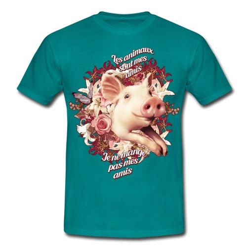 Je ne mange pas mes amis - T-shirt Homme