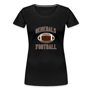 Big Size - Retro - Women - Frauen Premium T-Shirt