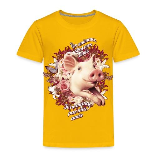 Je ne mange pas mes amis - T-shirt Premium Enfant