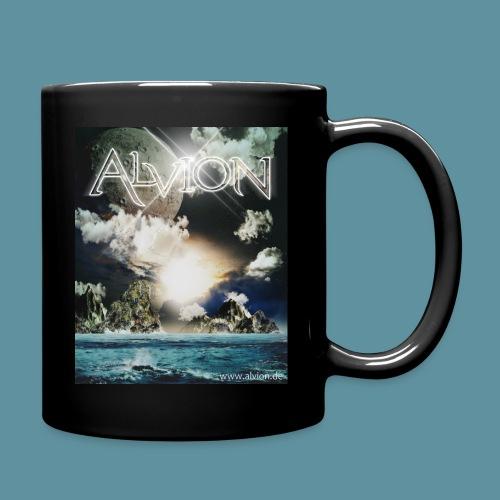Tasse Neue Welt schwarz - Tasse einfarbig