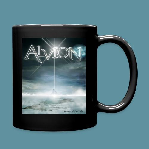 Tasse Alvion Gesamt schwarz - Tasse einfarbig