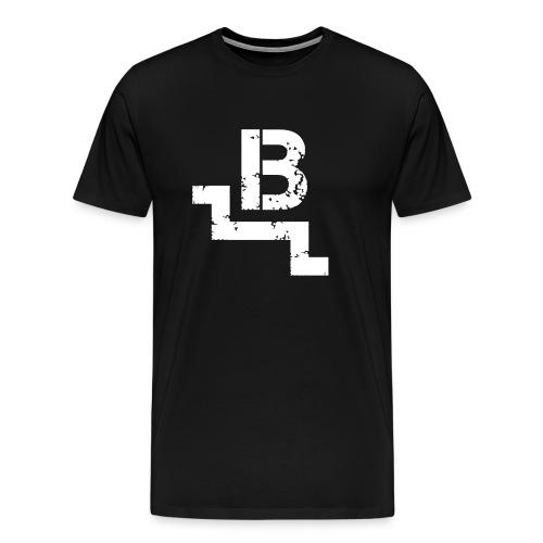 Basement LAN - Premium-T-shirt herr