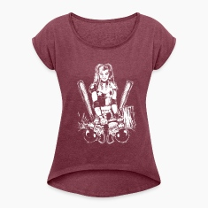 Batman Harley Quinn Frauen T-Shirt
