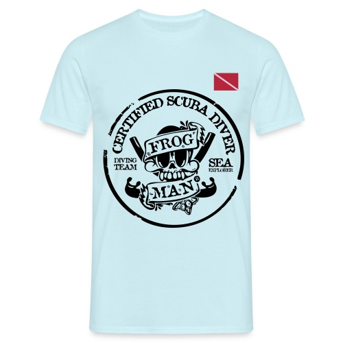 Frog Man - Men's T-Shirt