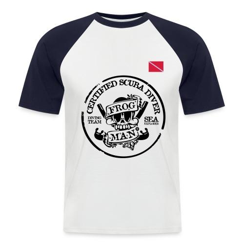 Frog Man - Men's Baseball T-Shirt
