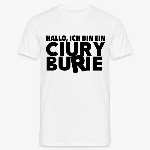 Hallo, ich bin CB - T-shirt, Männer - Männer T-Shirt