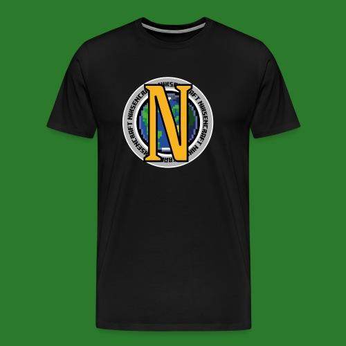 NikZenCraft T-shirt - Herre premium T-shirt