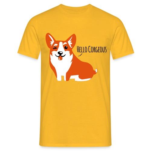 Corgi T-Shirt - Männer T-Shirt