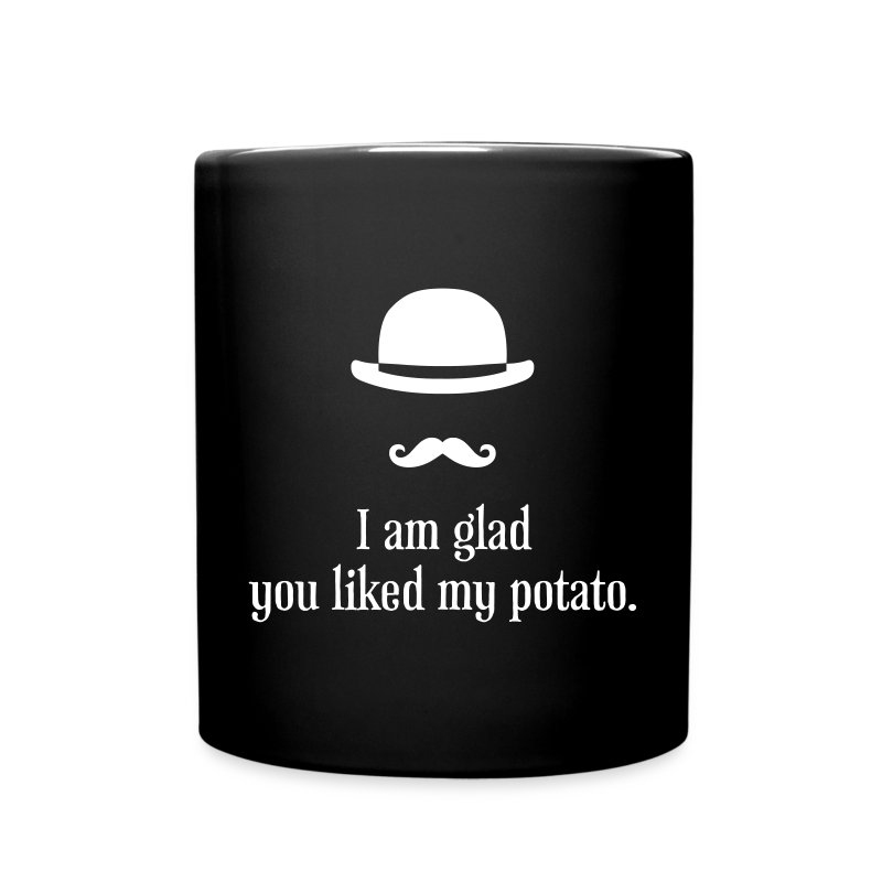 Sherlock: Like my potato - Tasse einfarbig